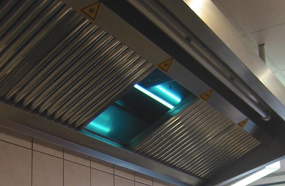 Abluftreinigung - Produkte - Küchenlüftung
